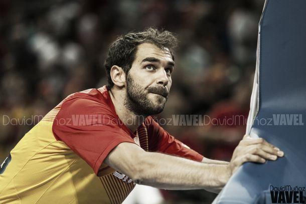 José Manuel Calderón, con la selección española   Fuente: David Muñoz - VAVEL.com.