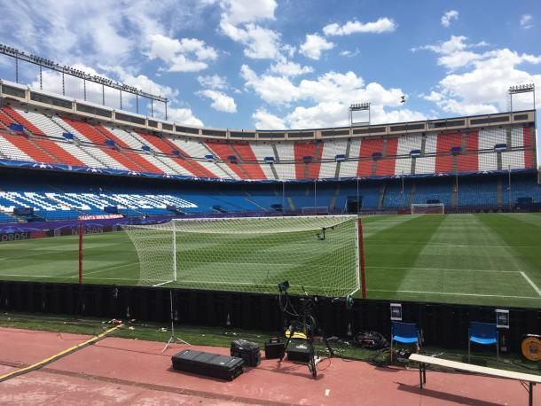 Vista del Calderon, all'ultima serata di Champions - Foto Champions League