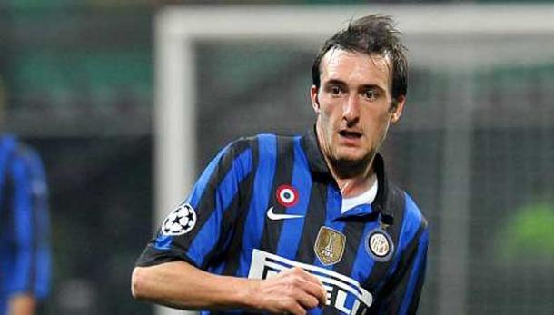 Caldirola during his time with Inter | Photo: calcioweb.eu