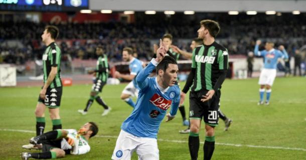 Napoli - Sassuolo 3-1 - meelty