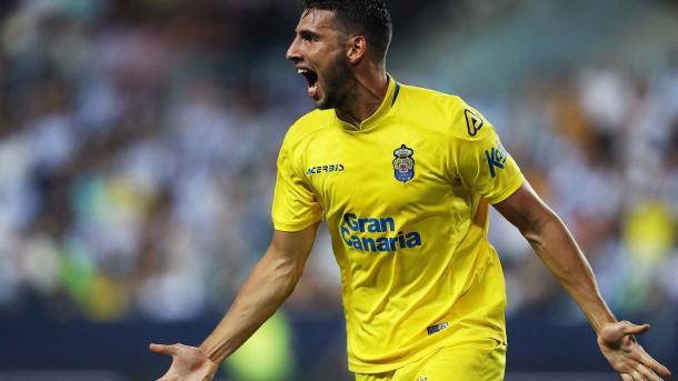 Calleri celebrando su gol ( Foto: UD Las Palmas)