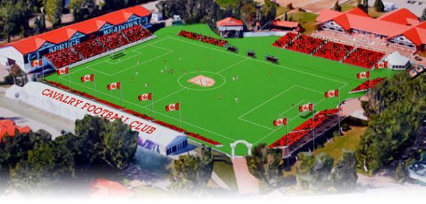 Estadio Cavalry FC. Fuente: CPL