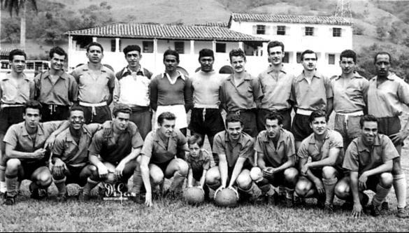 Atlético Nacional, campeón 1954   Foto: Archivo fotográfico.
