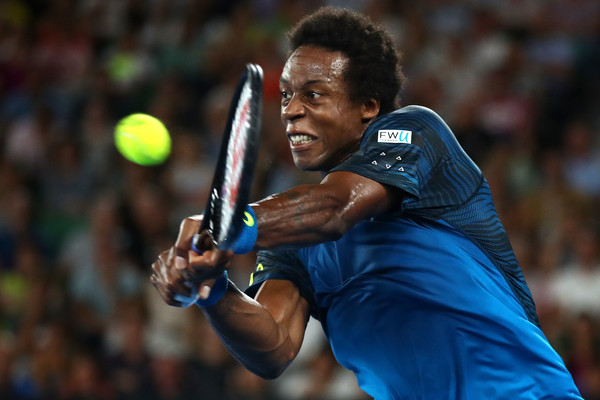 Monfils steals the third set (Photo by Cameron Spencer/Getty Images)
