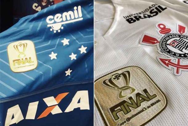 (Divulgação: Twitter Cruzeiro / Twitter Corinthians)