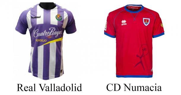 Camisetas de los dos equipos de esta temporada | Foto: Sergio Marín
