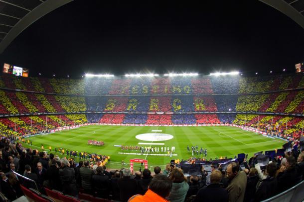 Aspecto del Camp Nou en el FC Barcelona 5-0 Real Madrid / Foto: FC Barcelona