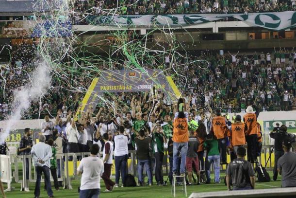 Guarani começou o ano com título da Série A-2 do Paulista (Foto: Divulgação/Guarani)
