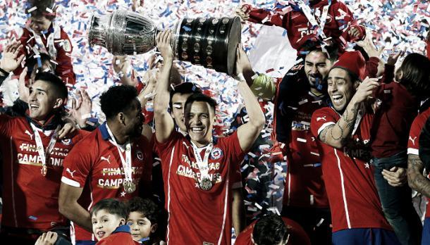 La primera vez que ganó Chile el torfeo | Foto: EMOL