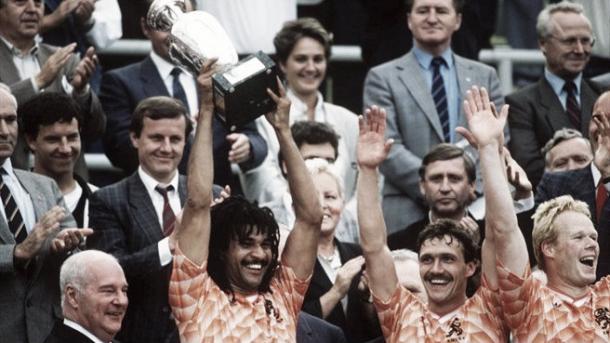 Holanda consiguió su primera Eurocopa en el 88. Foto: UEFA.com