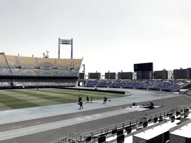 Campo donde se jugará la final. Foto rfef