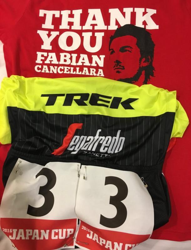 Il saluto della Trek al suo capitano Fabian Cancellara |Quotidiano.net