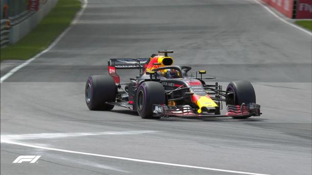 Ricciardo in pista | twitter - @f1