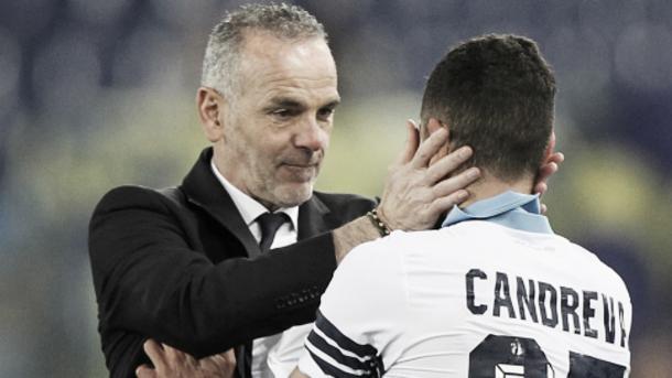 Pioli si complimenta con Candreva | Goal.com