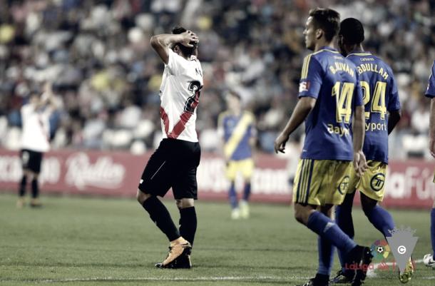 El Sevilla Atlético se lamenta por las ocasiones desperdiciadas | Foto: LaLiga