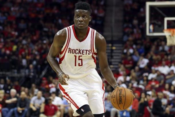 Capela will be sidelined for at least four weeks due to a slightly fractured fibula. Photo: Troy Taormina-USA TODAY Sports