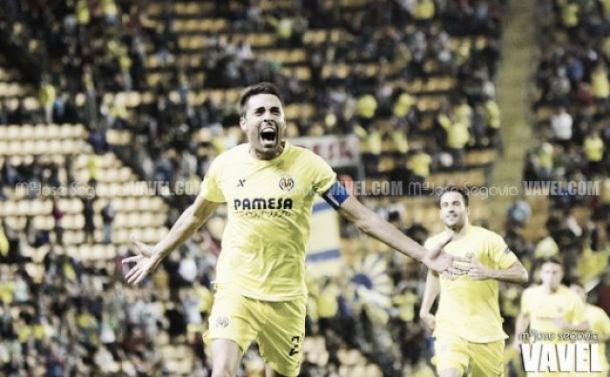 Bruno Soriano celebrando un gol | Imagen: Mª José Segovia (VAVEL)