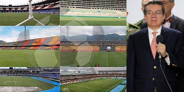 El regreso del fútbol colombiano, cada vez más cerca. Imagen: Agencia EFE.