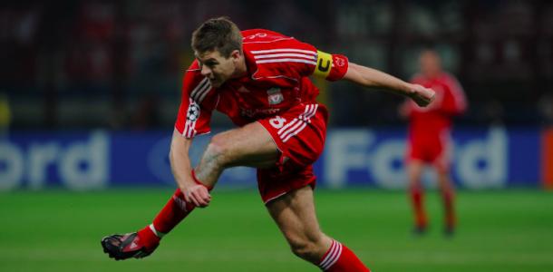 Gerrard dedicó su carrera profesional al Liverpool