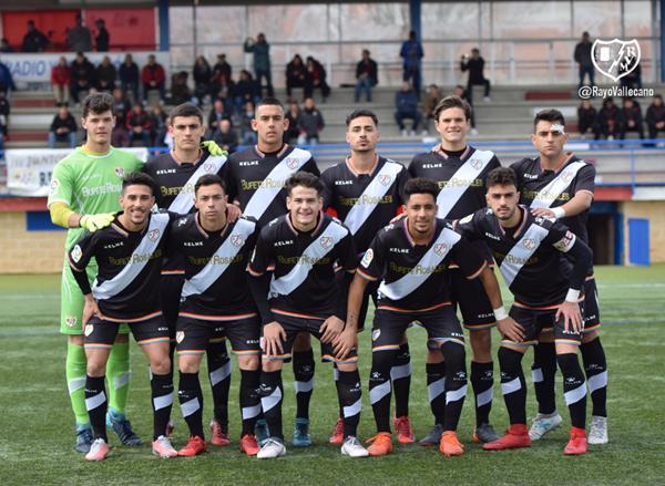 Formación del Juvenil A para el último partido de liga | Fotografía: Rayo Vallecano S.A.D.