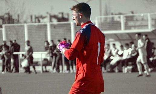 Dani Merino durante un partido | Fuente: @danimerino_1