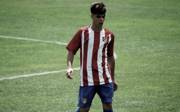 Igor Rojo con el Atlético de Madrid | Fotografía: @igorerre