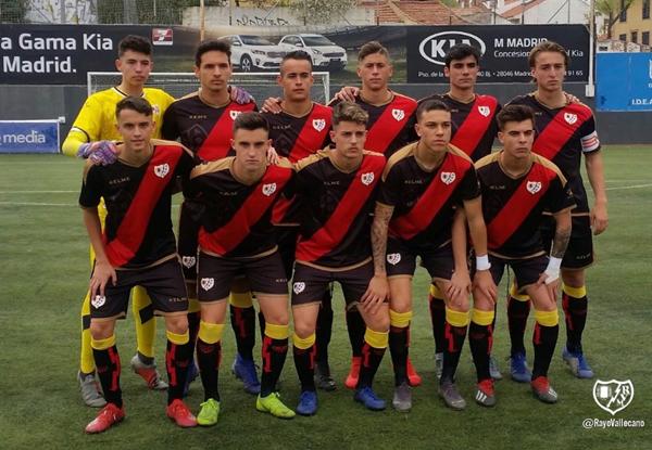 Jugadores del Juvenil A | Fotografía: Rayo Vallecano S.A.D.