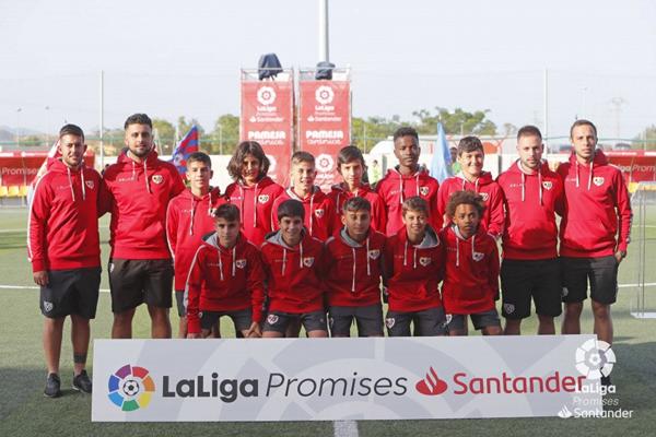 Jugadores de la categoría Alevín del Rayo Vallecano | Fotografía: La Liga