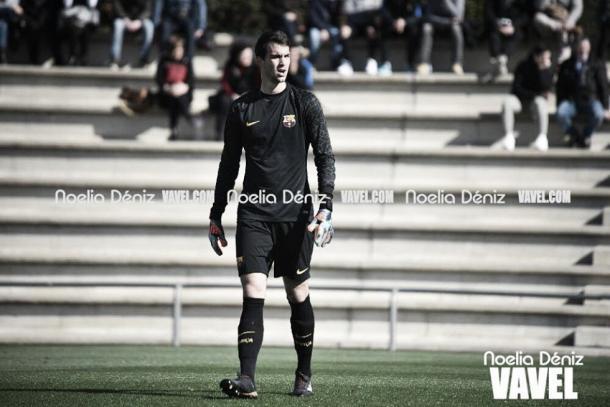 Carevic ha vivido una temporada agridulce en Barcelona / Foto: Noelia Déniz (VAVEL.com)