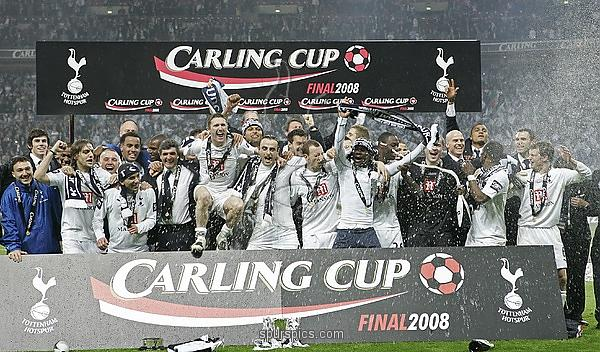 Spurs last tasted a trophy in 2008 (photo: spurs pics)