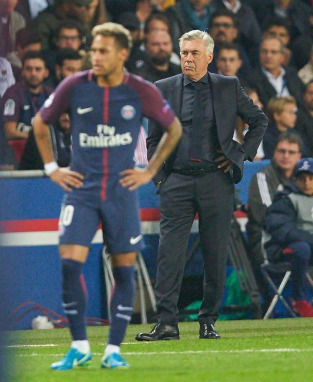 Carlo Ancelotti regresaba a la que fue su casa durante dos temporadas. | FOTO: @FCBayern