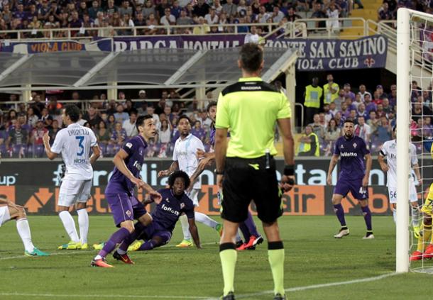 Gol di Sanchez nell'andata | goal.com