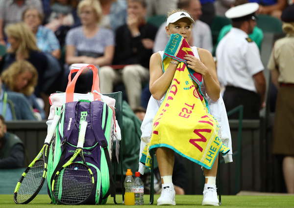Wimbledon remains the only Grand Slam that Wozniacki hasn't reached the quarterfinals (Photo by Clive Brunskill / Getty Images)