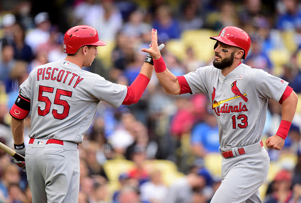 Matt Carpenter got the night going with a home run in the third inning of the game. | Photo: Harry How/Getty Images