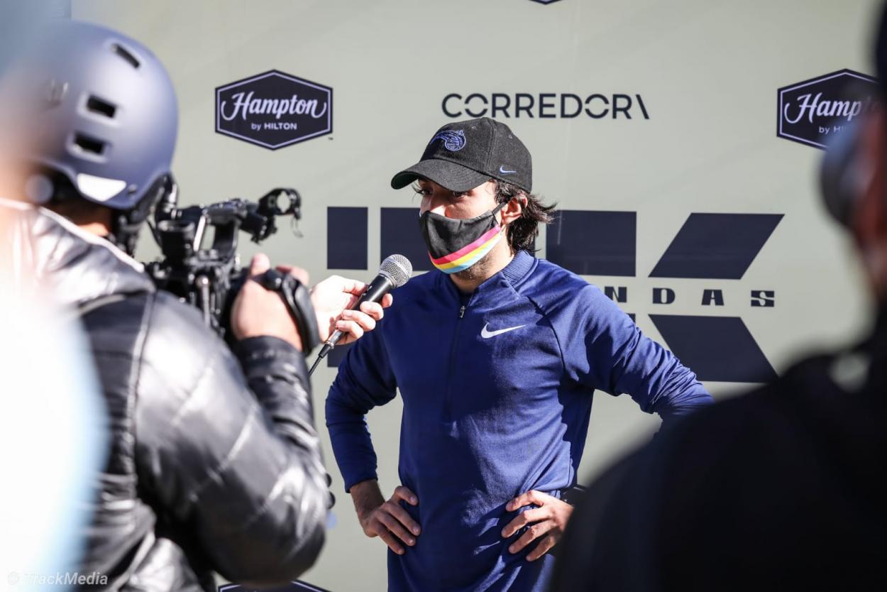 Fernando Carro en declaraciones ante la prensa. Foto: TrackMedia