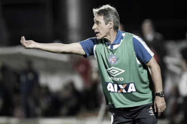 Carpegiani em seu último clube, o Bahia. (Foto: Alexandre Loureiro/Getty Images)
