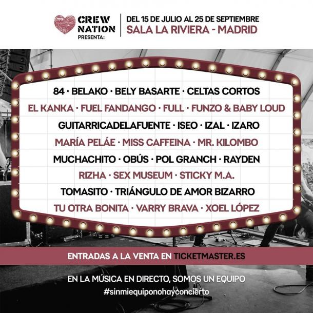cartel Crew Nation presenta 2020// fuente: Live Nation (web)