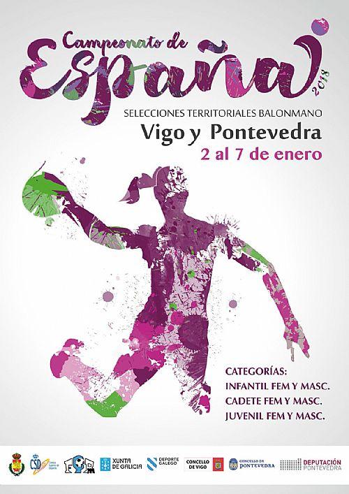Cartel del torneo. Foto: @Cesa2018Galicia