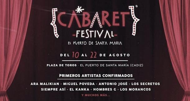 Cartel Cabaret festival El Puerto // fuente: cabaret festival (instagram)
