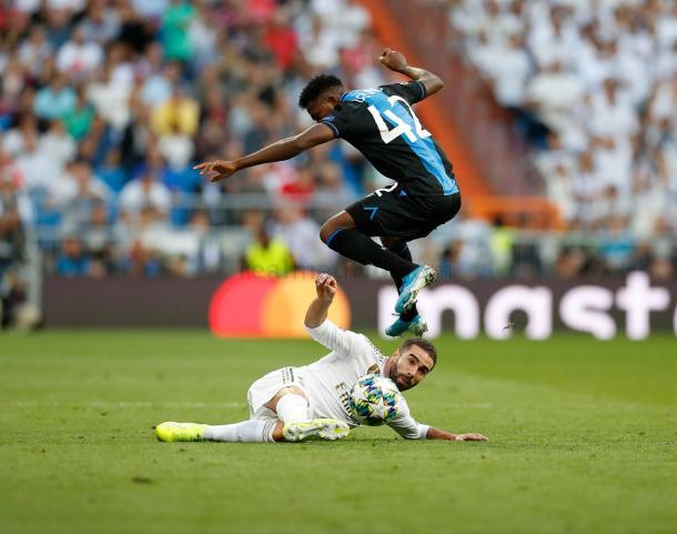 Real Madrid - Club Brujas / Fuente: realmadrid.com