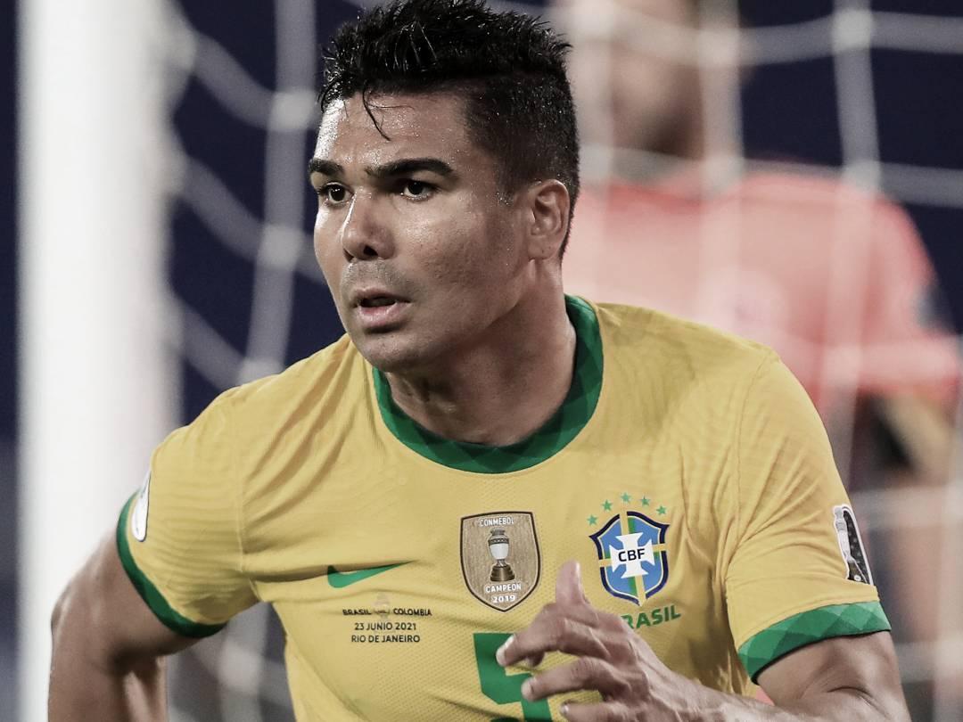 Casemiro, una de las figuras del torneo   Foto: CONMEBOL