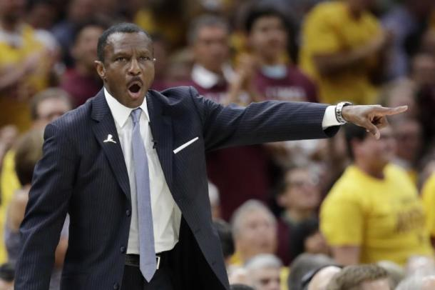 Toronto Raptors head coach Dwane Casey already won the Coach of the Year award by his head coaching peers around the NBA but will he win the NBA's Coach of the Year as well? Photo: Tony Dejak/Associated Press