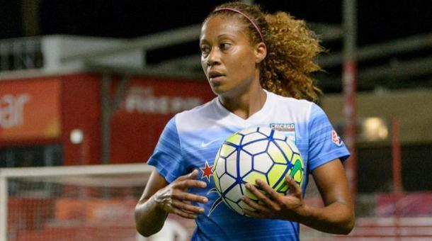 Casey Short playing for the Chicago Red Stars in 2016. Source: Four Four Two
