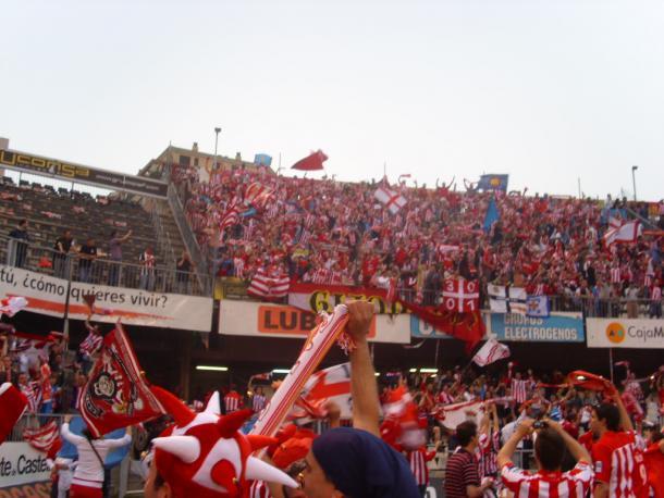 La afición del Sporting, en Castalia | Imagen: Wikipedia