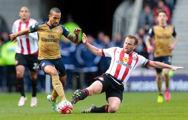 Lee Cattermole may be missing, but Sunderland won't be afraid to tackle | Photo: Graham Stuart/Getty