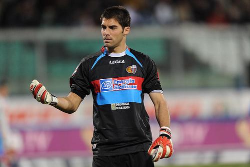 Andujar during his time with Catania | Photo: taringa.net