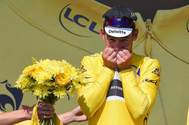 Cavendish has already worn the Yellow Jersey in this race, as well as holding the Green Jersey / CyclingNews