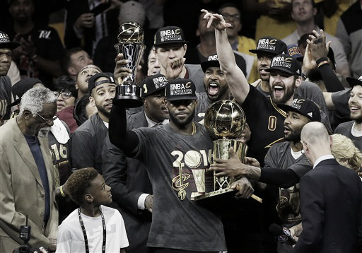 The Cavaliers won the title this year, coming from a 3-1 deficit (Ohio.com)