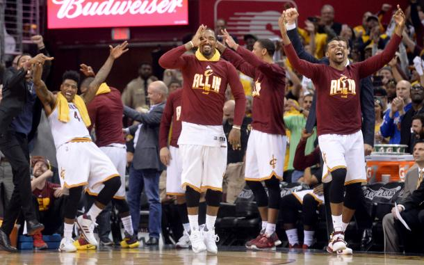 The Cavaliers' bench will need to do their part in supporting their stars. Photo: Ken Blaze-USA TODAY Sports