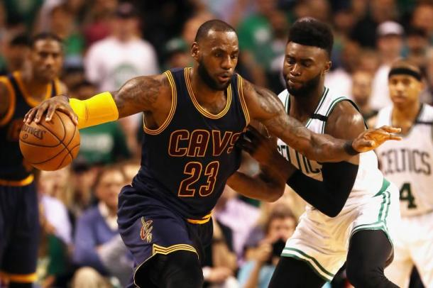 The Celtics will tip off the season in Cleveland on Tuesday, October 17 on TNT. Photo: Elsa/Getty Images